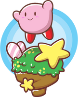 Number one - Kirby Hop! by OrngeJuice