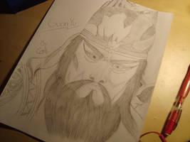 Guan Yu by BuwanAnsu