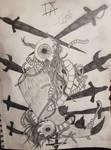 Tarot Nine of Swords by BuwanAnsu