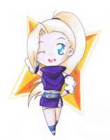 Naruto: Yamanaka Ino by I-Am-Bleu