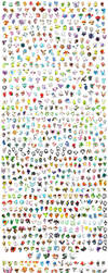 All 718 pokemon ! by I-Am-Bleu