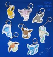 Eevee evolution set exampel by I-Am-Bleu