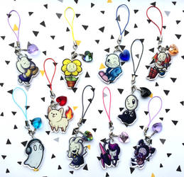 Undertale charms by I-Am-Bleu