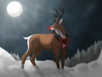 WoW - Winter Reindeer by Drake-Vega