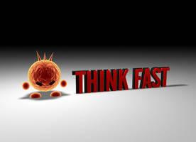Think Fast 3D Logo by oblivion-media