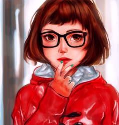 Red Raincoat by Hades-0413