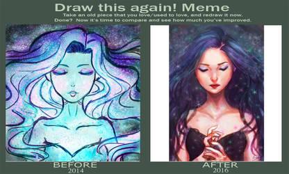 Draw This Again Meme by Hades-0413