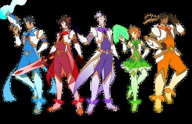 Star Guardians Voltron AU by ShweezyLiz