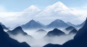 Mountains by ShweezyLiz