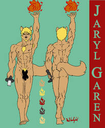 Jaryl Garen Reference Sheet by kokiteno