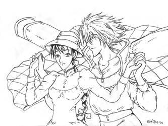 ..Howl and Sophie.. by kawaiitas