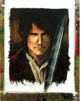 Bilbo Baggins by kawaiitas