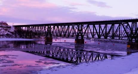 Railroad Bridge by picture-da-picture