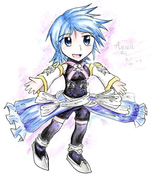 Chibi Aqua by Spellbound-Miracle