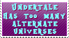 Undertale and, it's AU's by sweetangelpieforever