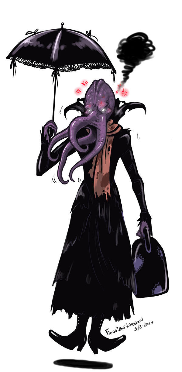 Mindflayer Mary Poppins by Laiochan