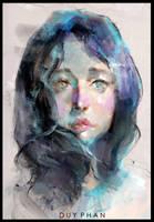 Portrait by bloodyman88