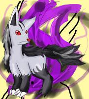 Mightyena (Readdescplz) by TaiyoPrower