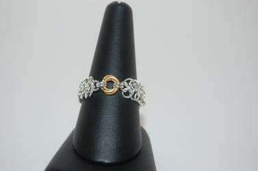 Rosette Chainmail Ring by FragilexAir