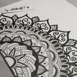 Floral Mandala by RAD-GLaDOS