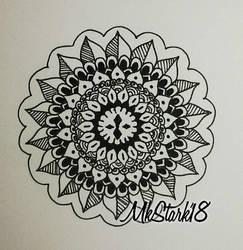 Small mandala by RAD-GLaDOS