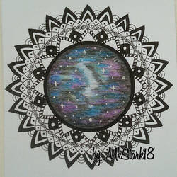 Cosmic mandala by RAD-GLaDOS