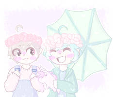 *+:,.'Pastel Dan and Phil'.,:+* by Milky-mint