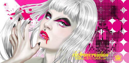 wear black, bleed glitter by ElectronicRainbow