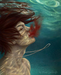 under water by ManiaCanterville