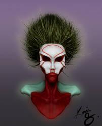 Voodoo woman by UniComicRN