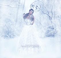 Winter Queen by MeemieArt