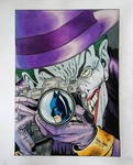 Joker y Batman by Dibudibujo