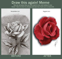 Draw this again - Rose by Recklys