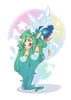 LOL-Star Guardian Soraka by SIROKAMINEKO