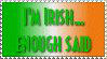 I'm Irish Stamp by mixx
