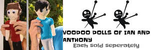 VOODOO DOLLS of Ian and Anthony by DirtyDirtySam