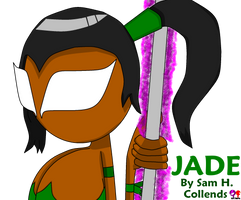 Mortal Kombat Classic Costume - Jade by DirtyDirtySam