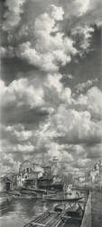 Sky above San-Trovaso by DChernov