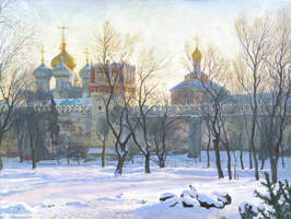 Novodevichy Convent by DChernov