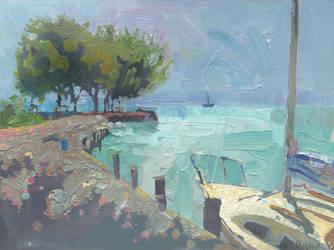 The Lake Balaton by DChernov