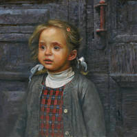 Deja vu 80x80cm oil on canvas by DChernov