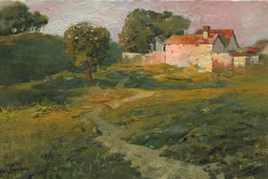 A Landscape in Vicinity of Strijigorod by DChernov