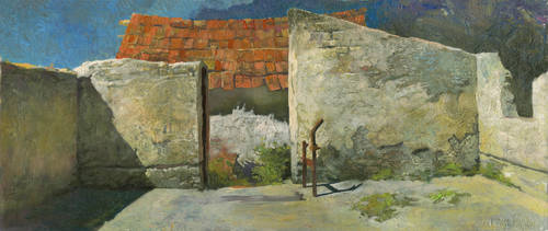 Ruins of Firm in Hungary by DChernov