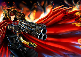 Vincent Valentine by GottaLoveAugust31
