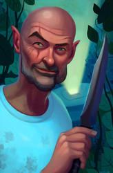John Locke 2 by Neanderthal-Jam