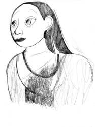 A portrait by Liliako