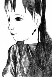 Portrait (for a special friend) by Liliako