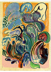 Oil pastel colours by Liliako