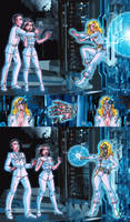 Superman III Alternate Robotization by macguffin78