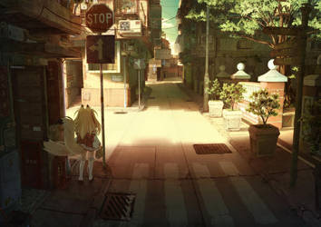 Lost in Amakawa(Colored) by BigFoxKi